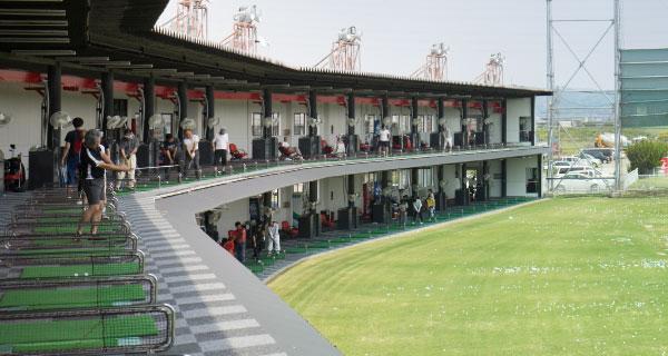 ホクモウジャンボゴルフセンターの打席画像